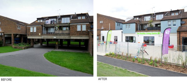 Walton Court Before and After
