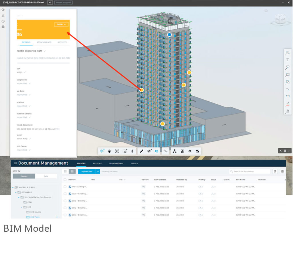 Denning Point - snap of BIM model