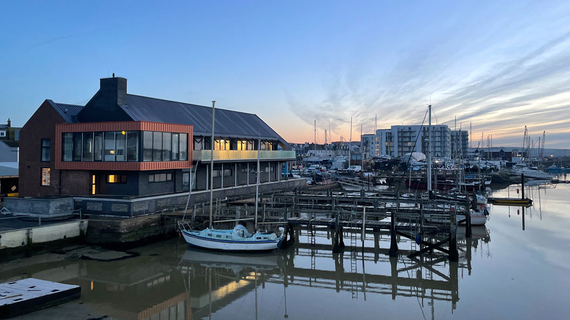 Sussex-Yacht-Club-at-sunrise