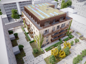Ashbridge Street, Westminster was designed using Passivhaus principals and was winner of the Constructing Excellence BIM / Digital Construction Awards.