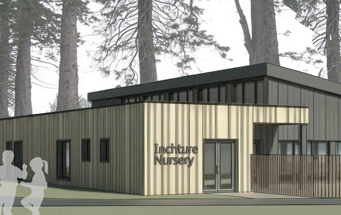 Inchture Nursery is a new nursery within the grounds of existing primary school