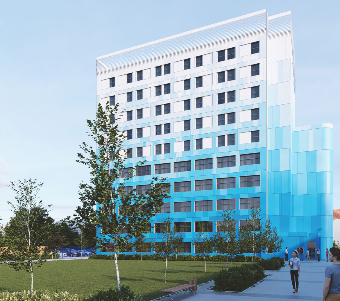 Highbury College, Portsmouth - Tower Retrofit for Building Safety and Cladding Remediation