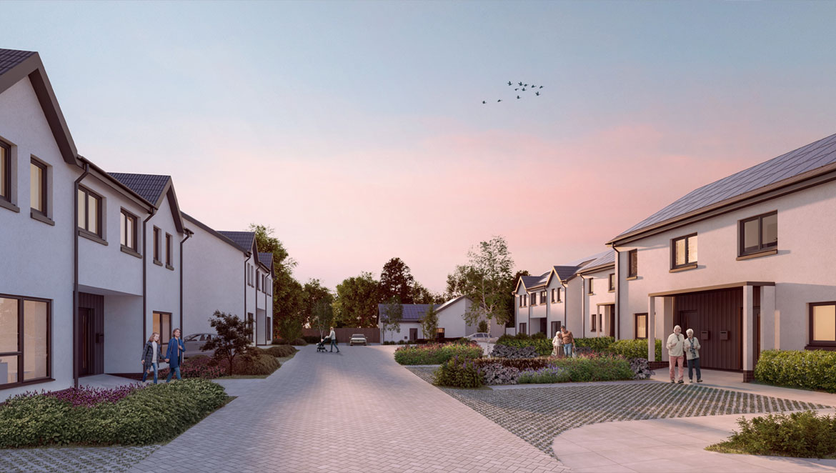 Springwell Brae - New Build Energiesprong Homes homes in Broughton, Scottish Borders