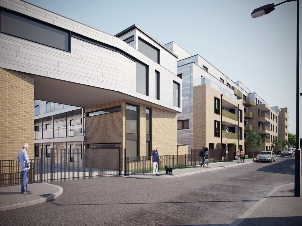 Solomons Passage BIM Level 2 project for Wandle Housing Association