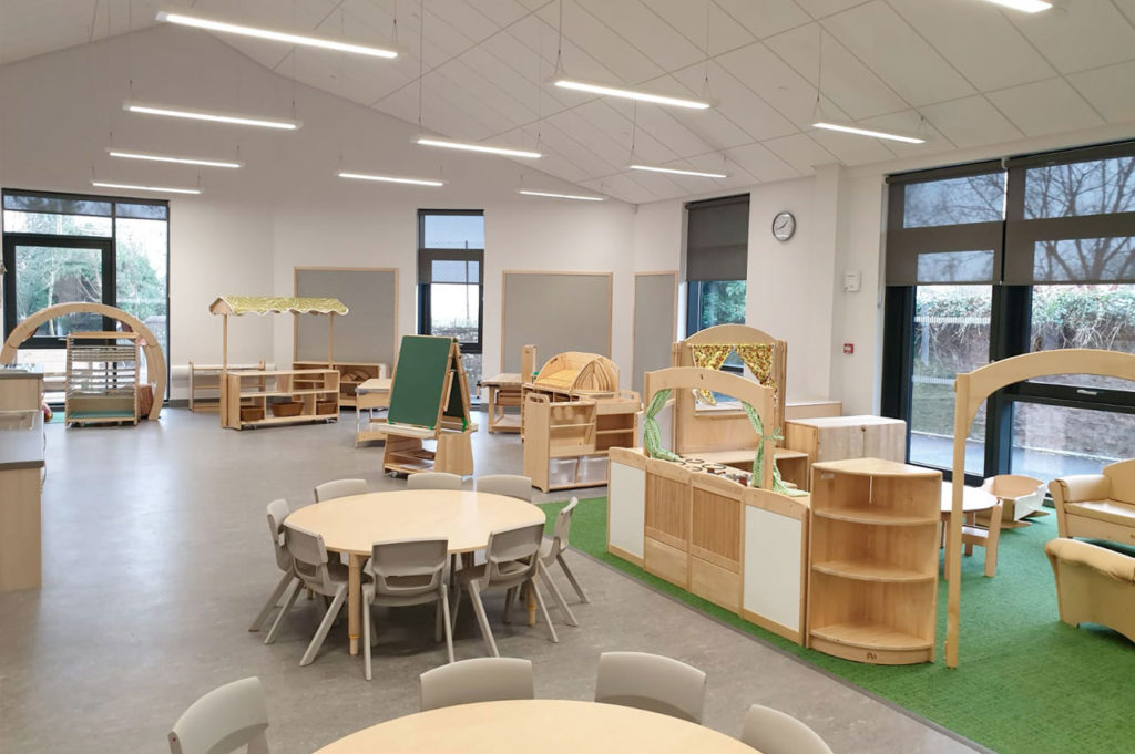 Longforgan Primary School, Perthshire - Refurbishment and new build extension to an existing B listed primary school building providing additional teaching accommodation, gym hall, nursery and up-to date facilities.