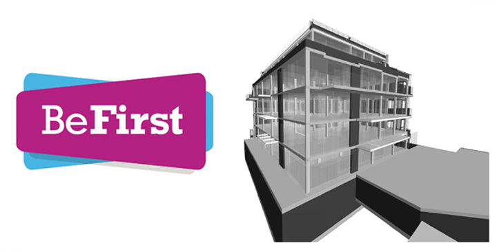 BeFirst Logo and BIM Project