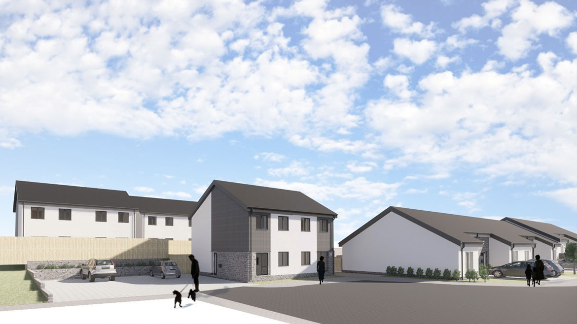 Passivhaus development at Conic Way and Montrose Way feature image