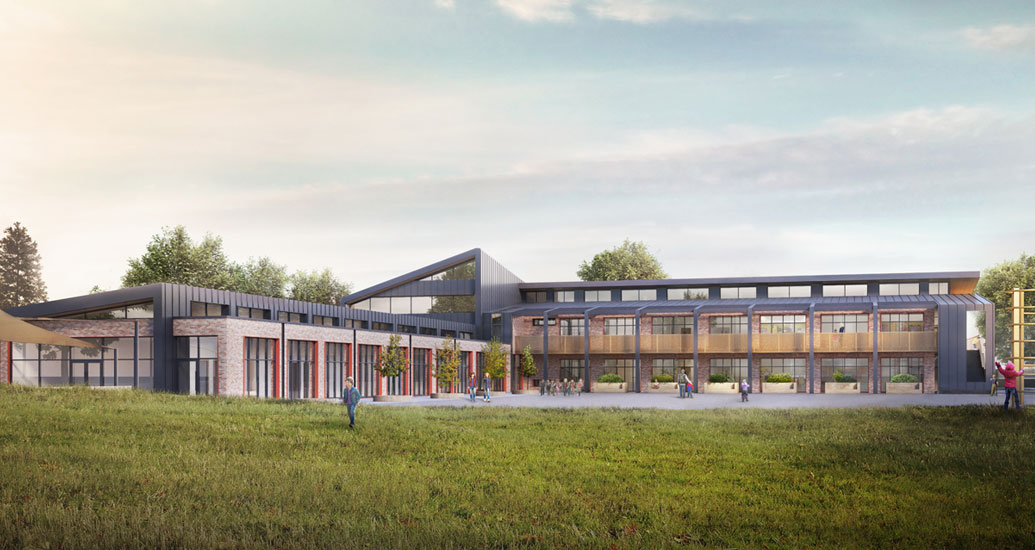 Image of Passivhaus school Thornhill Primary