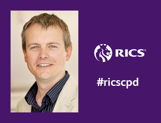 Image link to news article: James Traynor to present RICS CPD