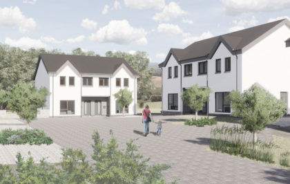 Image of ECD springwell Brae development for Eildon housing Association