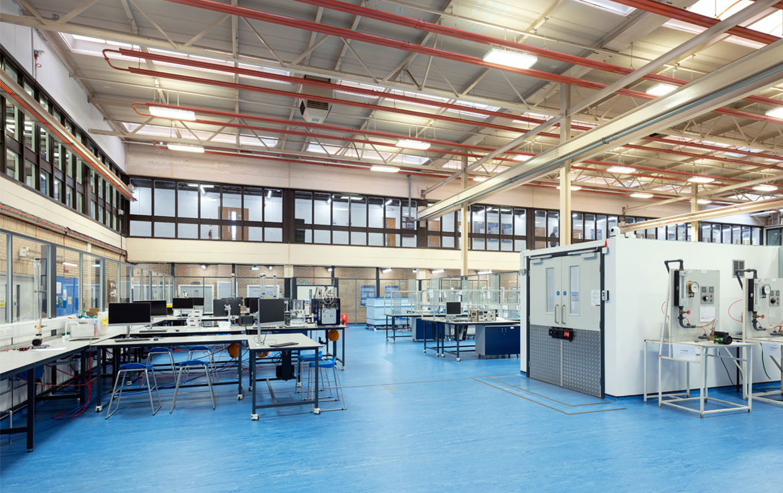 Heriot Watt University Lab facilities
