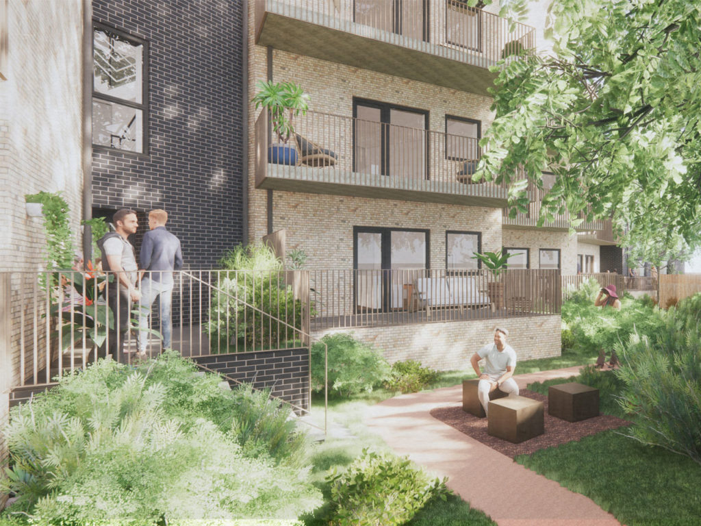 New build Passivhaus homes at Ladyfields