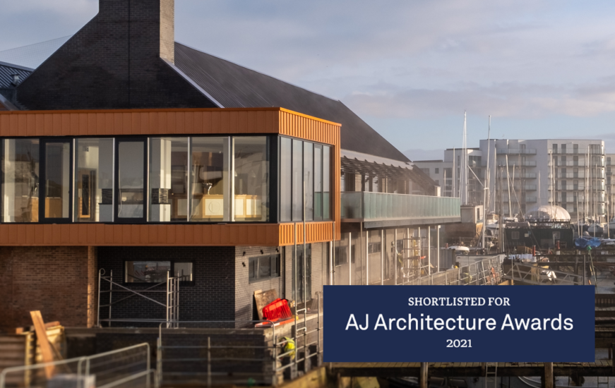 Sussex Yacht Club Project has been shortlisted for an AJ Architecture Award for the Leisure Project Category.