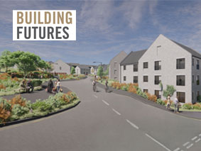 Muir Road (Phase One of the Bellsmyre Regeneration & Masterplan) achieves planning.