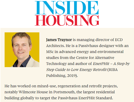 With five million social rent properties in the UK, the sector can make a huge contribution to the 2050 net zero target. Inside Housing speaks to Emily Braham at Energiesprong UK, James Traynor at ECD Architects and Matt Hickman at Vinci Facilities, to find out how their collaboration can make a difference